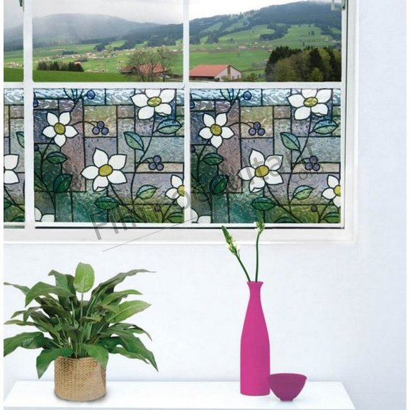 Film repositionnable decoratif Marguerite