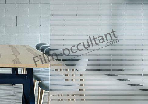 Film decoration adhesif store venitien 35 - 5 mm