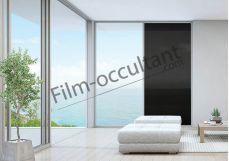Film decoration adhésif couleur Noir transparent
