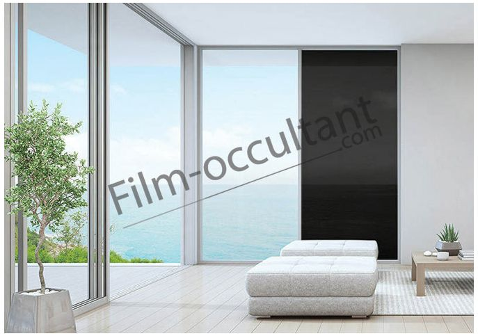 Film decoration adh sif couleur noir transparent film for Adhesif decoration