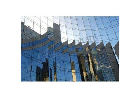 Film discrétion miroir pose extérieure TLV 16%