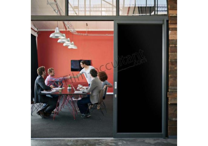 film intimit opaque anti regard noir pour vitrage film occultant com. Black Bedroom Furniture Sets. Home Design Ideas