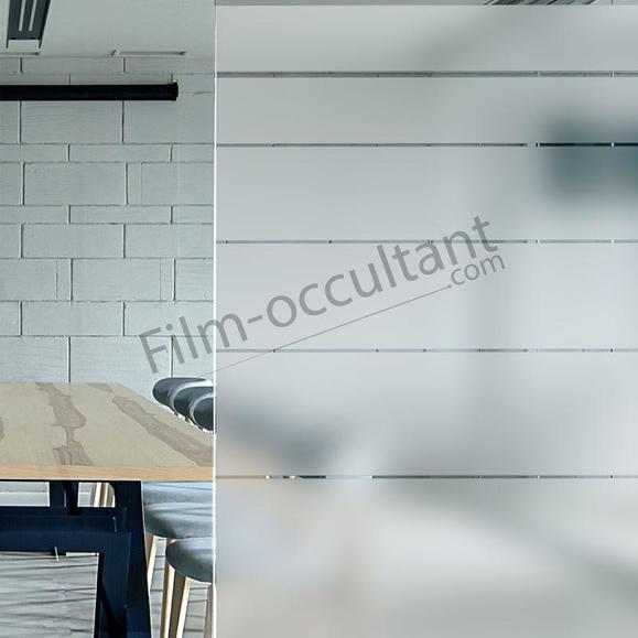 Film decoration bandes degressives larges