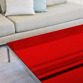 Film decoration adhésif couleur Rouge transparent