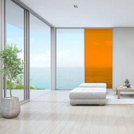 Film decoration adhésif couleur Orange transparent
