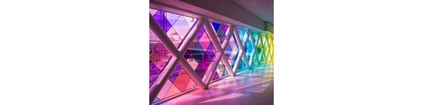 Film decoratif effet vitrail